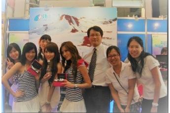賀! 海昌國際~2010台北生技月「展出成功」